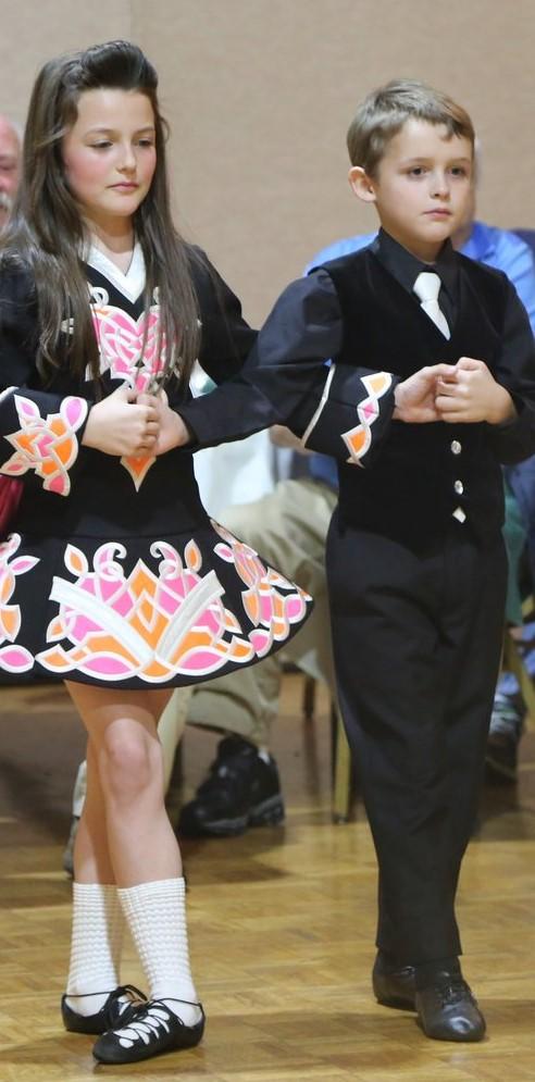 Youngest dances